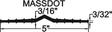 TFR-5316 Flat Ribbed