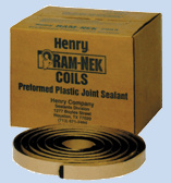 Ram-Nek® Preformed Flexible Plastic Gasket Coils RN103